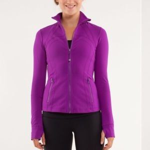 Lululemon Purple Define Jacket Full Zip Like-New